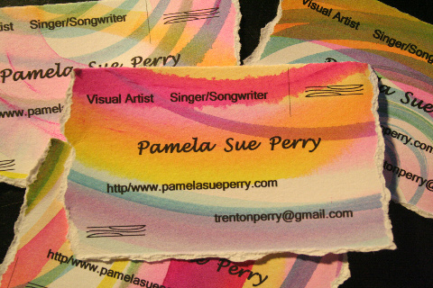 new address business card